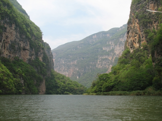 Blick in den Sumidero Canyon